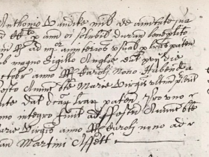 Pension to Van Dyck (25 March 1635)