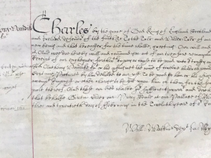 Warrant to pay Van Dyck £1,200 (23 February 1637)