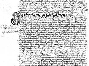 Will of Jan Van Belcamp (24 December 1651)