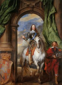 Sir Anthony Van Dyck, 'Charles I with M. de St Antoine', oil on canvas, 370 x 270 cm, Royal Collection Trust/© Her Majesty Queen Elizabeth II 2017