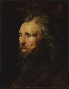 Head Study of a Bearded Man