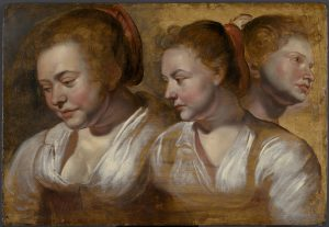 Head Studies of a Young Woman