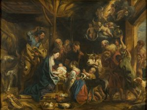 The Adoration of the Shepherds (The Nativity)
