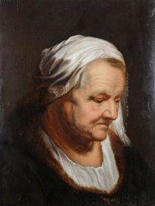 Head Study of an Old Woman
