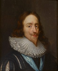 Portrait of King Charles I (1600-1649)
