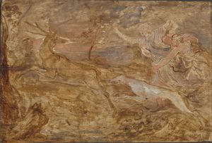 Diana Hunting a Stag