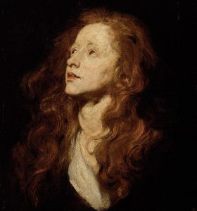 Study of a Young Woman (Mary Magdalene)