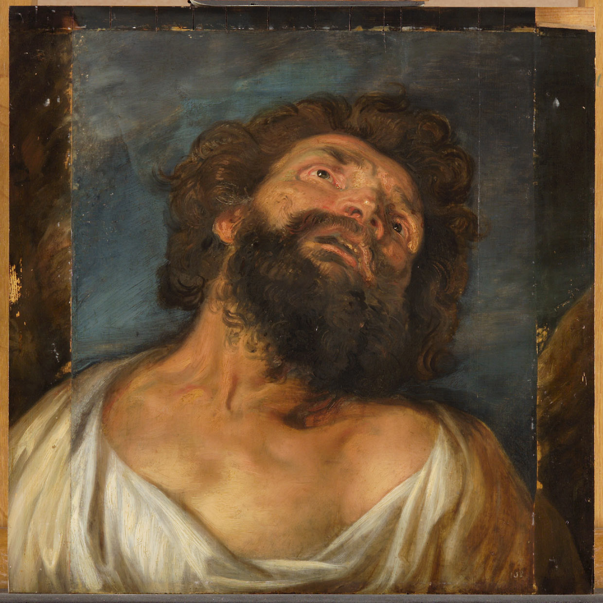Study for the Head of the Penitent Thief