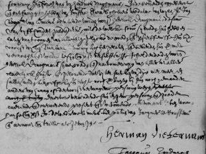 Jordaens represents two minor children of Catharina Nuyts (12 September 1633)