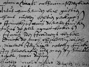 Baptism of Jacques Jordaens (20 May 1593)
