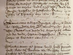 Jordaens nominated as dean of St.-Luke's Guild (18 September 1621)