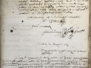 Six former pupils of Jordaens testify in the De Scaglia case (12 August 1641)