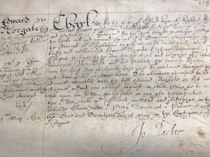Warrant to pay Edward Norgate (21 May 1632)