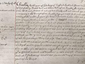Privy seal warrant for £603 to Van Dyck (14 December 1638)