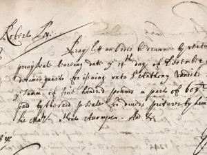 Juxon and Laud misc. £500 of £603 to Van Dyck (24 February 1639)