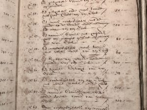 'A head of Christ'  in the inventory of Joan Baptista Anthoine (28 March 1691)