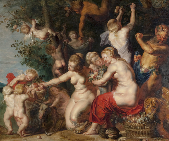 Nymphs and Satyrs (Allegory of Fruitfulness)