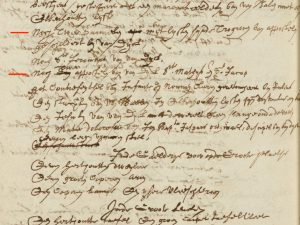'St Mathys and St Jacob' in the inventory of Jan Baptista Borrekens (22 June 1668)