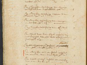 'Armida' in the inventory of Alexander Voet (6/15 October 1689)