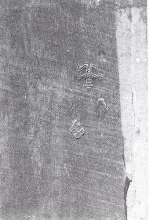 Fig. 16 - Merkteken van Meester VHB (cat. nr. 242) (foto: B. Cardon, Leuven).