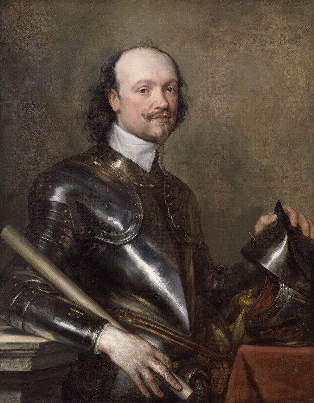 Sir Anthony Van Dyck, <em>Portrait of Sir Kenelm Digby</em>, c.1638 - 40, National Portrait Gallery, London