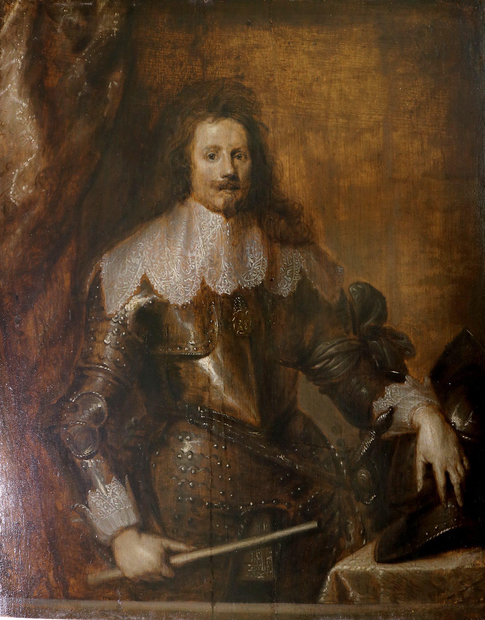 Portrait of Thomas François de Carignan (Prince of Savoy)