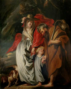 The Return of the Holy Family from Egypt