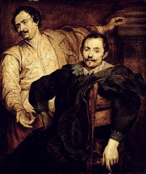 Double portrait of Lucas and Cornelis de Wael