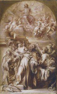 Ecstasy of St Augustine