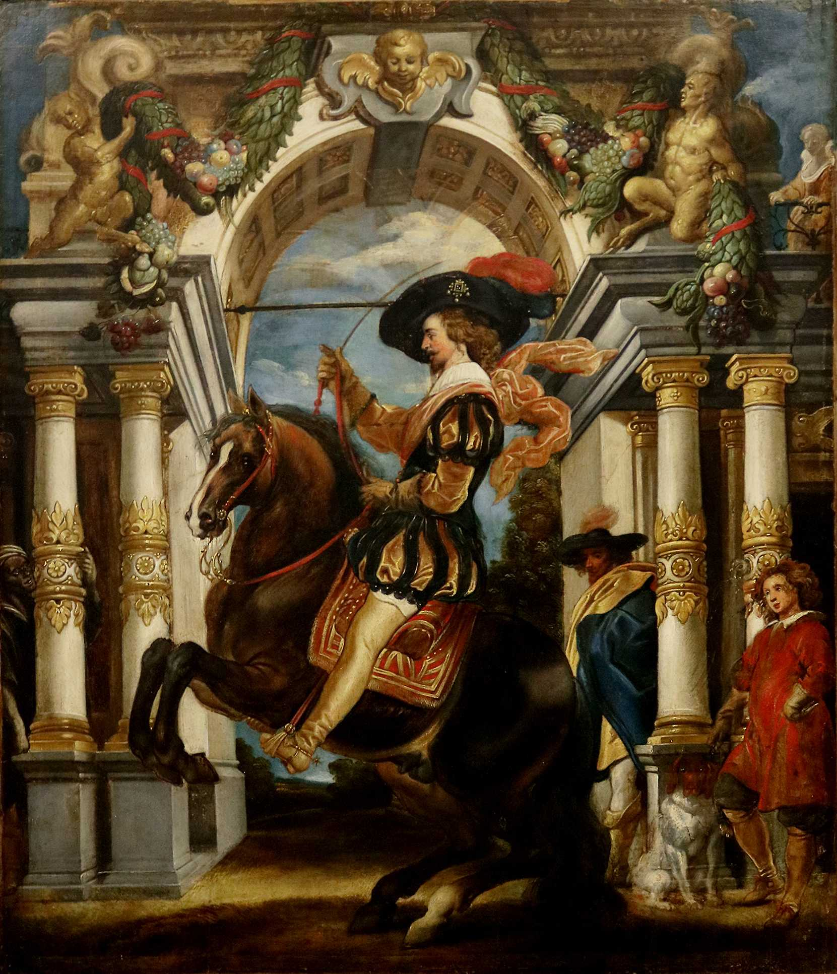 Gentleman on Horseback