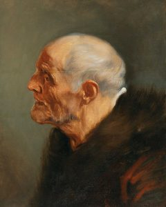 Head Study of an Old Man