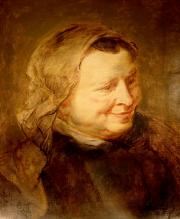 Head Study of a Woman