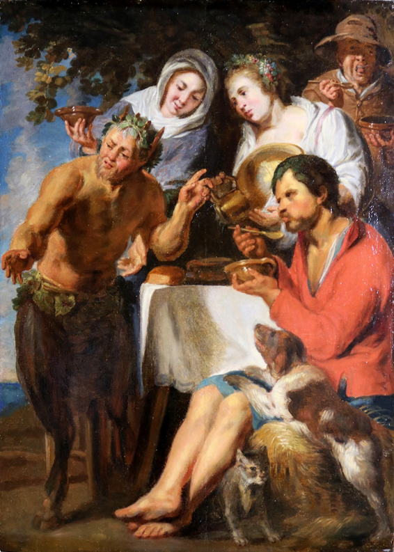 Satyr and Peasants
