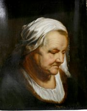 Study Head of an Old Woman