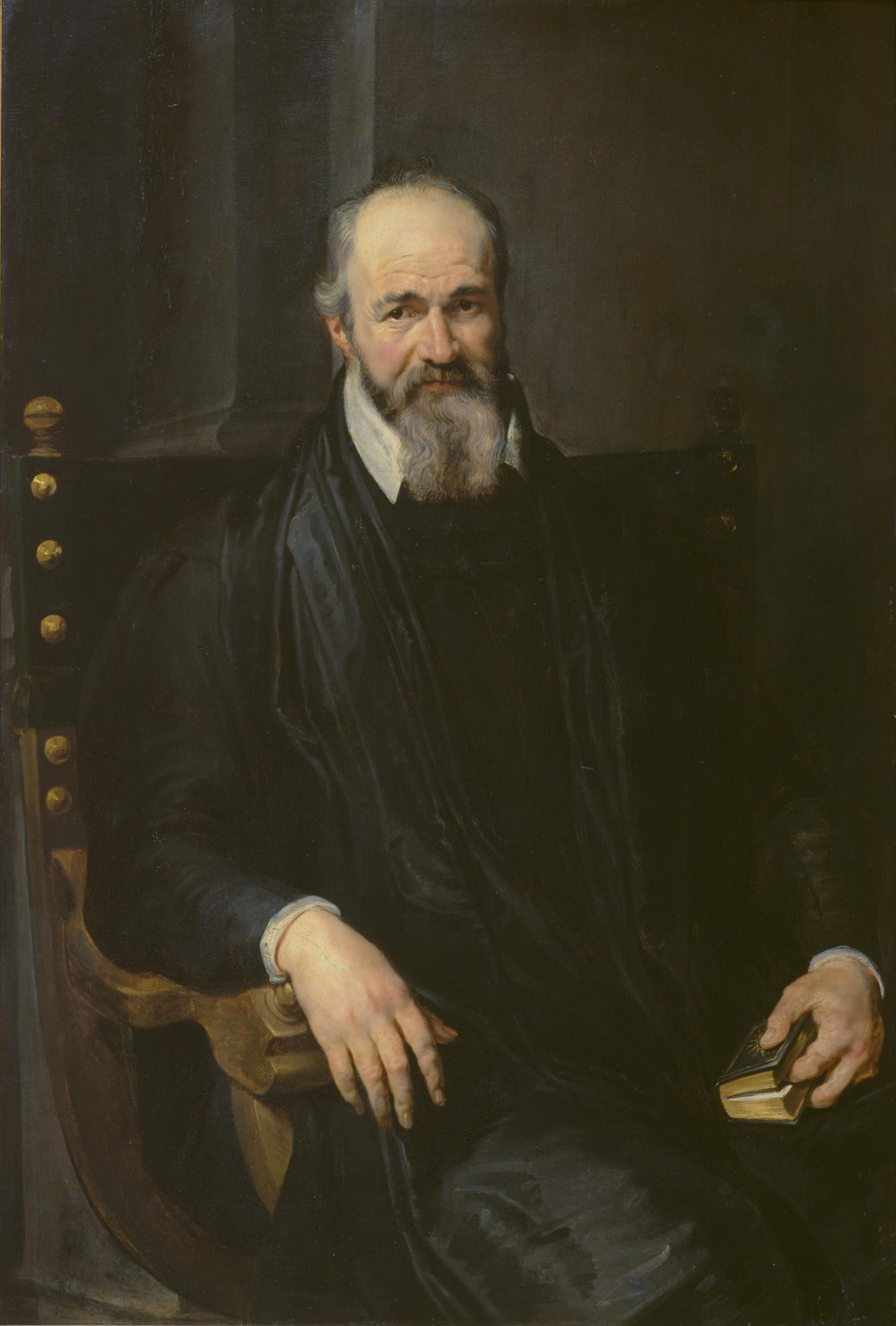Portrait of a Man in an Armchair
