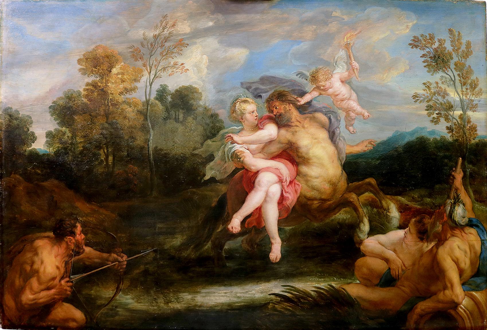 The Centaur Nessus abducts Dejanira